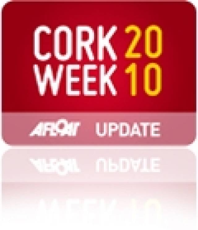 Day Two: Cork Week Offers Light Winds, Mist and Dolphins