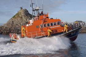 Fenit Lifeboat Rescues Man After Boat Capsize Near Derrymore Island