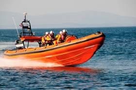 Bundoran RNLI on a previous exercise