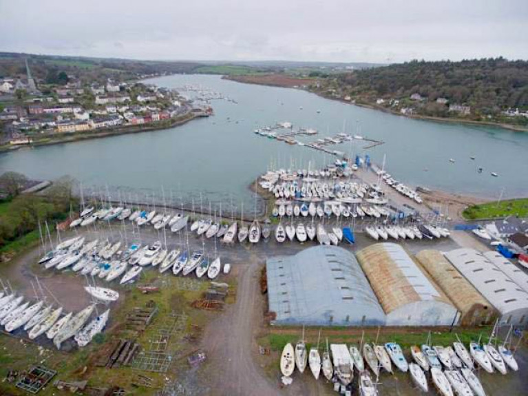 Crosshaven Boatyard has been sold as a going concern complete with its extensive multi-purpose nine acres of waterfront space