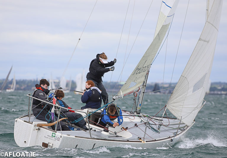 The International J24 Class return to Howth Yacht Club in 2021