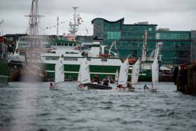 Sailing at last year's SeaFest in Galway Docks