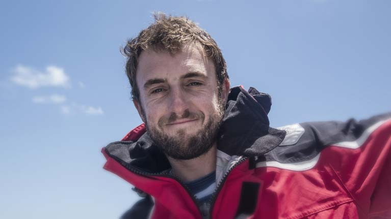 Gregor McGuckin sailed Hanley Energy Endurance in the 2018 Golden Globe Race