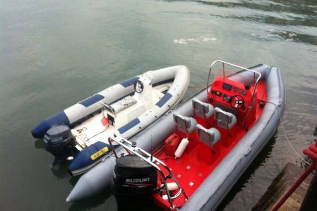 Rent a RIB from INSS – the operating area for INSS RIBs is Dublin Bay, south of the shipping lane and as far East as Dalkey Island