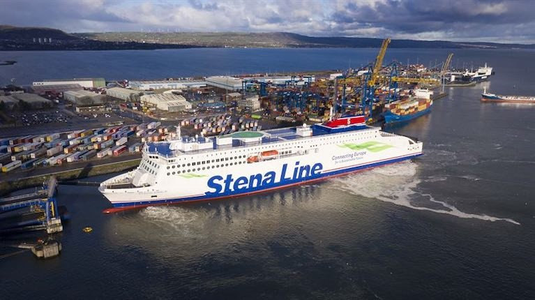 Stena Embla is the third E-Flexer ferry to be commissioned for Stena Line's Irish Sea routes