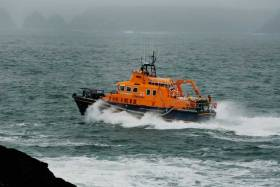 Ballyglass RNLI in 11 and a Half Hour Call Out to Rescue Fishermen After Boat Breaks Down