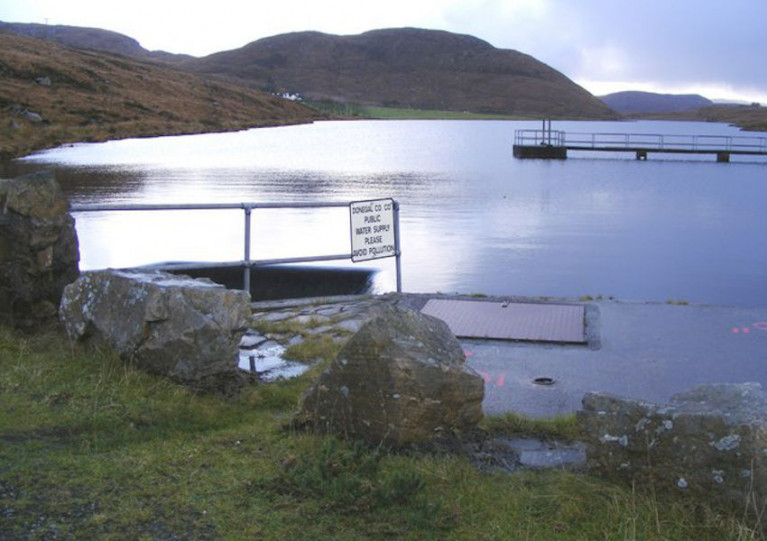 File image of Lough Keel in Co Donegal
