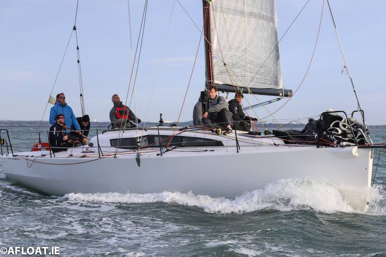 Rockabill VI was the winner of tonight's DBSC final Thursday Race in the Cruisers IRC Zero division