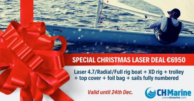 Laser Dinghy Christmas Specials From CH Marine