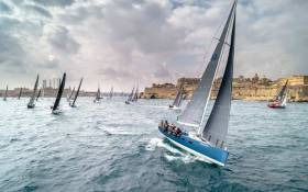 Around 100 of the Middle Sea Race fleet are racing for the overall win scored under the IRC Rating System