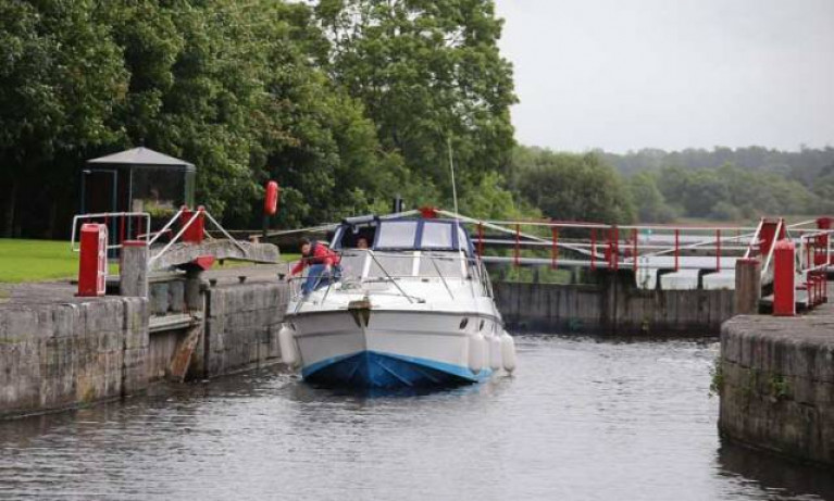 Albert Lock on the Jamestown Canal in Co Roscommon