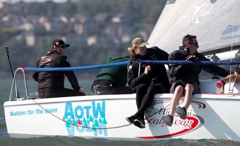 Scottish Hunter 707 'Autism on the Water' Gets Free Ferry to Bangor Town Regatta