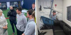 Viking Marine Olympic Sailor Finn Lynch Endorses New High Performance Centre
