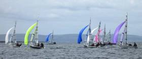 When the weather settled down, the RS 400 class had excellent racing in the RS Western Regatta at Galway Bay SC.