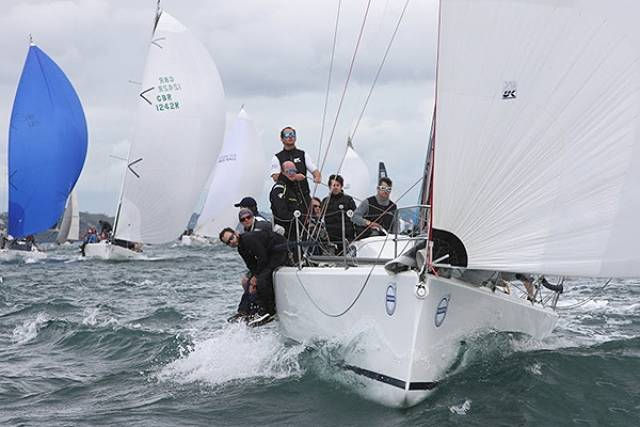 Action from today's IRC coastal race at Cork Week