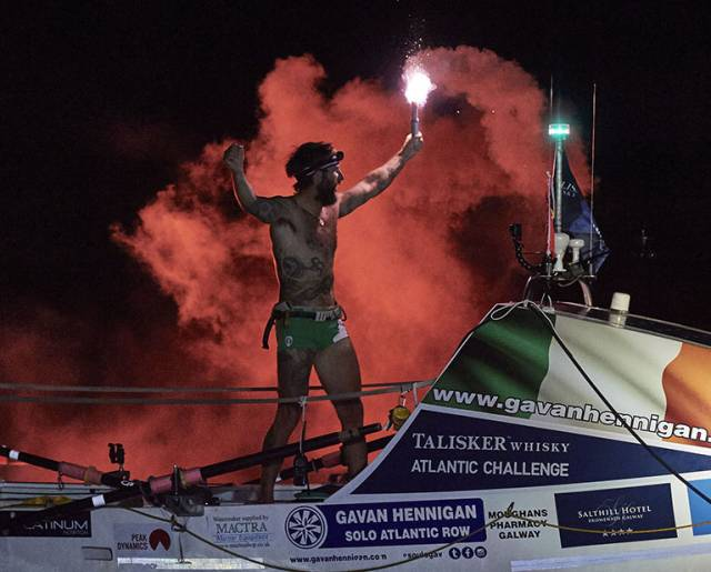 Historic Ocean Rower Takes Over Ireland Twitter Account
