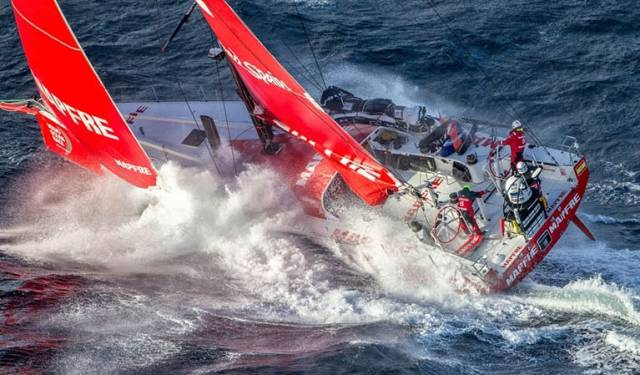 In the last edition in 2014-15, MAPFRE won the leg into Auckland, New Zealand and grabbed three more podium finishes