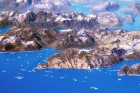 Cape Farewell, Greenland – an iron coast of huge headlands, rocky islands, and much loose ice