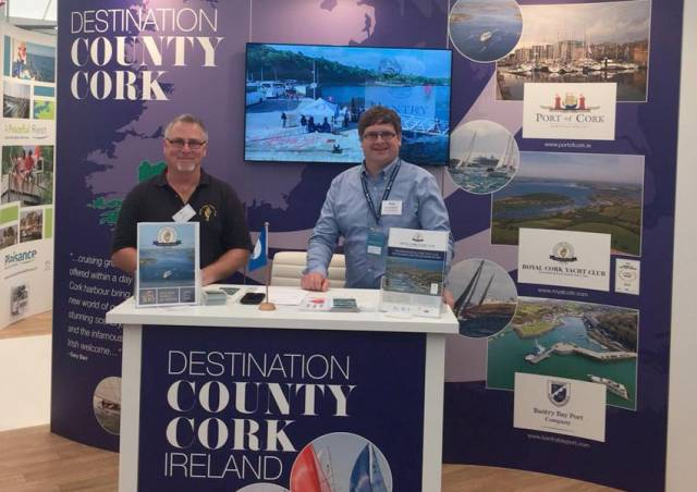 The Destination County Cork stand at Southampton. The boat show runs till this Sunday