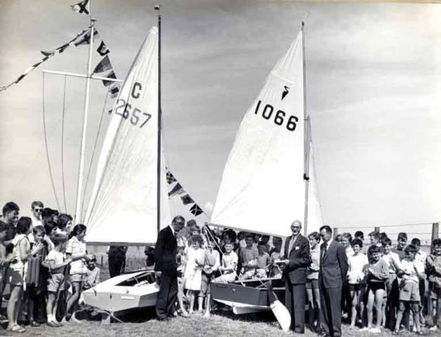The class of 1959 was the real start of junior sailing in Dun Laoghaire - before juniors or junior sections were part of the waterfront yacht club scene