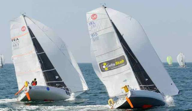 Breakthrough for Solo Sailor Tom Dolan With Podium Result in French Offshore Racing Championship Race