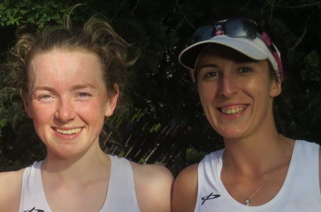 Aoife Casey and Denise Walsh
