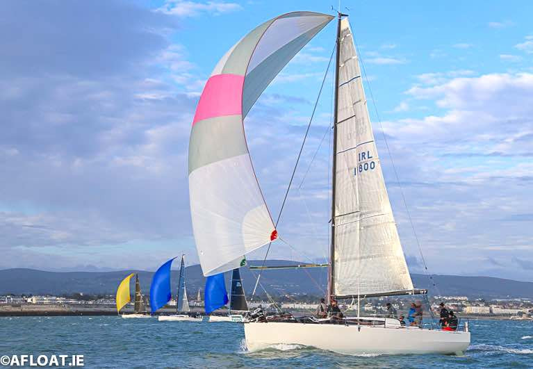 The final 'James Eadie' race of the ISORA season with overall champion, the JPK 10.80 Rockabill VI (Paul O'Higgins) in the foreground