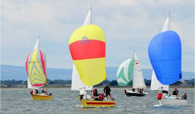 Puppeteer keelboats racing for national honours at Howth Yacht Club
