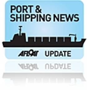 Ports & Shipping Review: Brave Newbuild Launched, Ferry Trials Deep Down Irish Sea, Agreement on CO2 & Sister of Final H&W Built Ship Debuts in Dublin