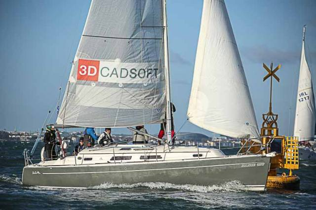The Hanse 351 Hanse Off is one of 36-boats for tomorrow's first race of the DBSC Spring Chicken Series