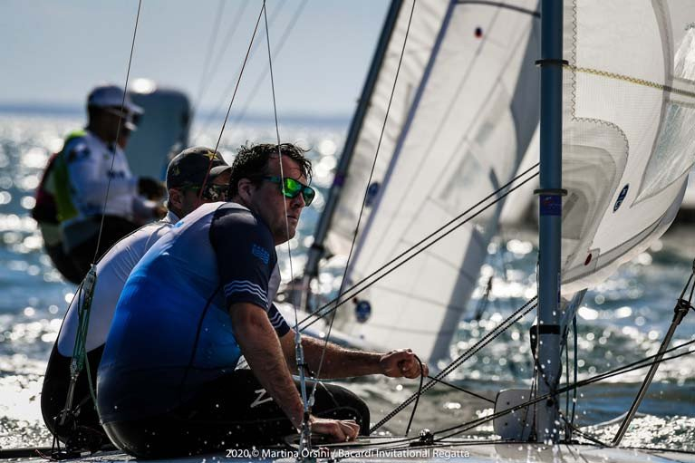 Robert and Peter O'Leary are in the top ten of the Bacardi Cup in Miami