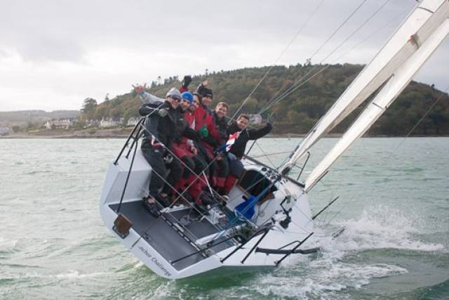 Quarter Tonner Anchor Challenge (Paul Gibbons) from Royal Cork YC will defend his IRC title in Marseille