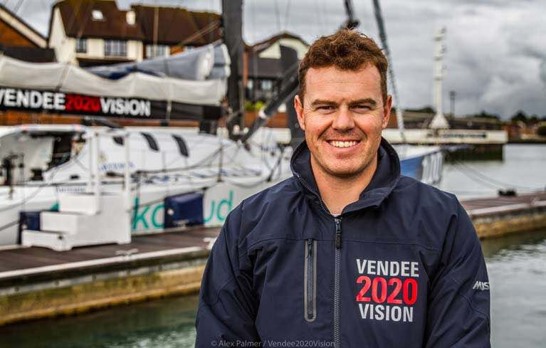 Belfast Lough Sailor Mikey Ferguson Racing on MOD70 in Middle Sea Race