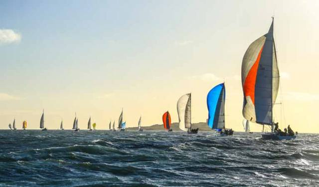 Record numbers participated in December's Winter Sailing Series on Dublin Bay