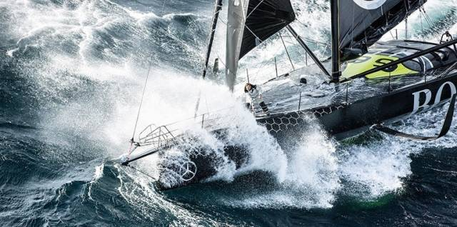 The Alex Thomson-skippered HUGO BOSS is expected in second place in the Vendeé Globe tonight