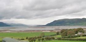 Carlingford Lough as seen from Greencastle, Co Down