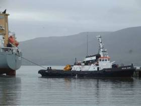 Atlantic Towage and Marine on Bere Island are the Shipping Company of the Year