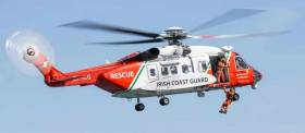 Rescue 115 helicopter was tasked to Kinvara