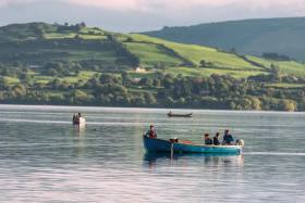 Participants on the 'Restore' tour at the World Canals Conference will visit Mountshannon on the Lough Derg Blueway in Co Clare