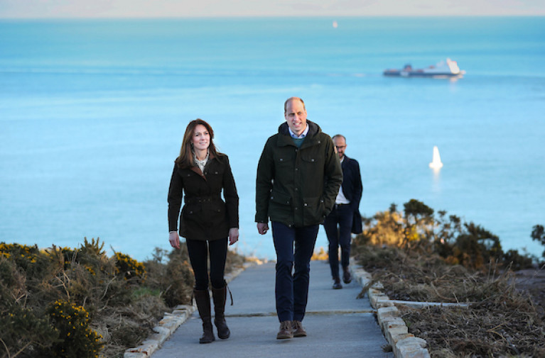 Duke & Duchess of Cambridge Meet with Marine Institute at Howth