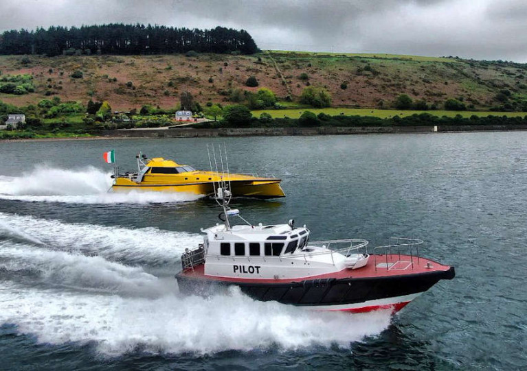 Safehaven Marine's pilot vessel for the Port of San Cirpian takes to the water on Tuesday 19 May
