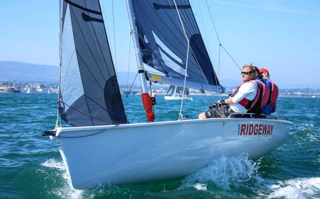 SB20 champion Peter Kennedy is a wild card entry for the All Ireland Sailing Championships