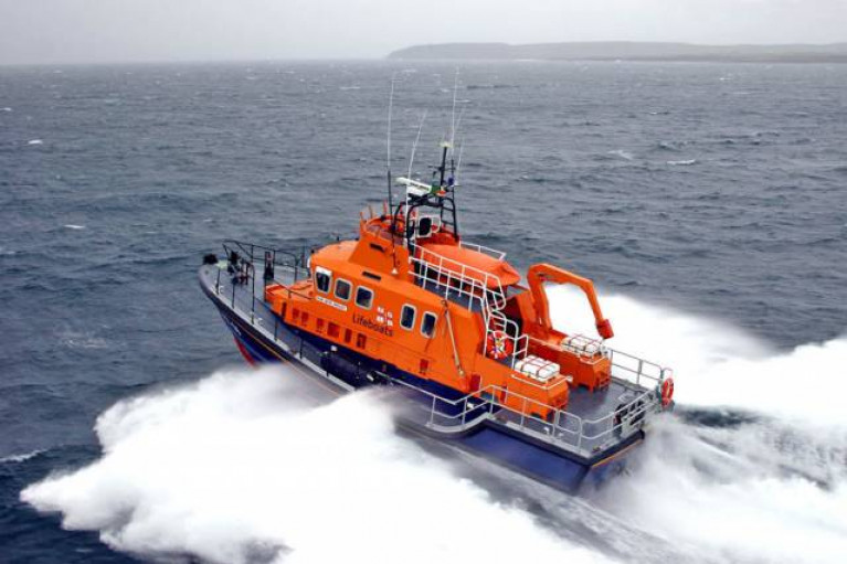 The RNLI Aran island and Galway lifeboats are assisting in the search