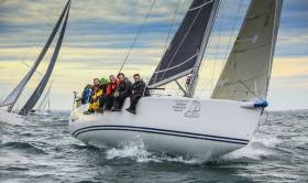 Kenny Rumball's INSS entry Jedi is one of ten Irish entries in this year's Rolex Fastnet Race from Cowes