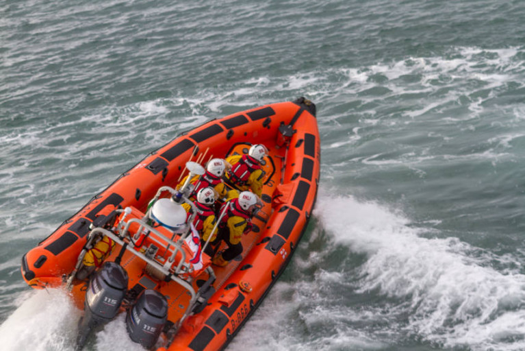 Skerries Lifeboat Launches To Reports Of Swimmer In Difficulty