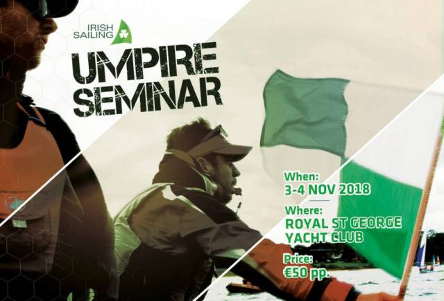 Irish Sailing To Host Umpire Seminar Next Month