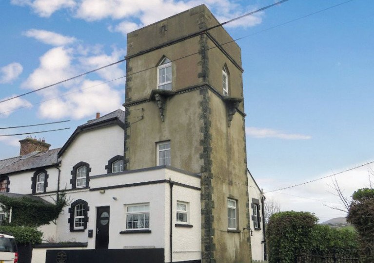 The Tower on Buncrana's Swilly Road was the town's coastguard station for many years at the turn of the 20th century