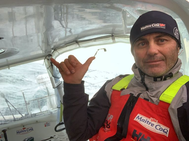 Vendee Globe Leader Yannick Bestaven Passes the Antimeridian