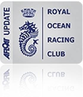 RORC Publish 2015 GB IRC Events Calendar