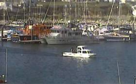 A CCTV image of Jillian before picking up its final passengers from Kilmore Quay